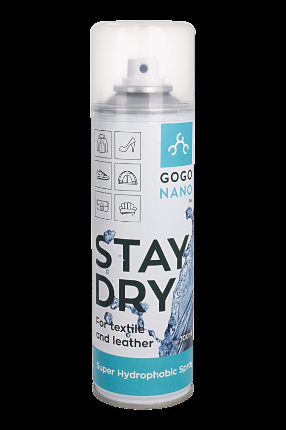 """""""Nano"""" dangos purškiklis """"GoGoNano Stay Stay Dry"""" tekstilės ir odos dirbiniams"""