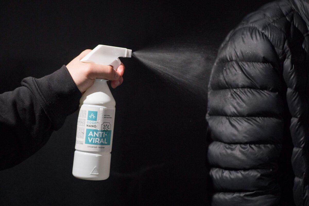 """""""GoGoNano Anti-Viral 2-in-1"""" dezinfekavimo ir valymo priemonė, 500 ml"""