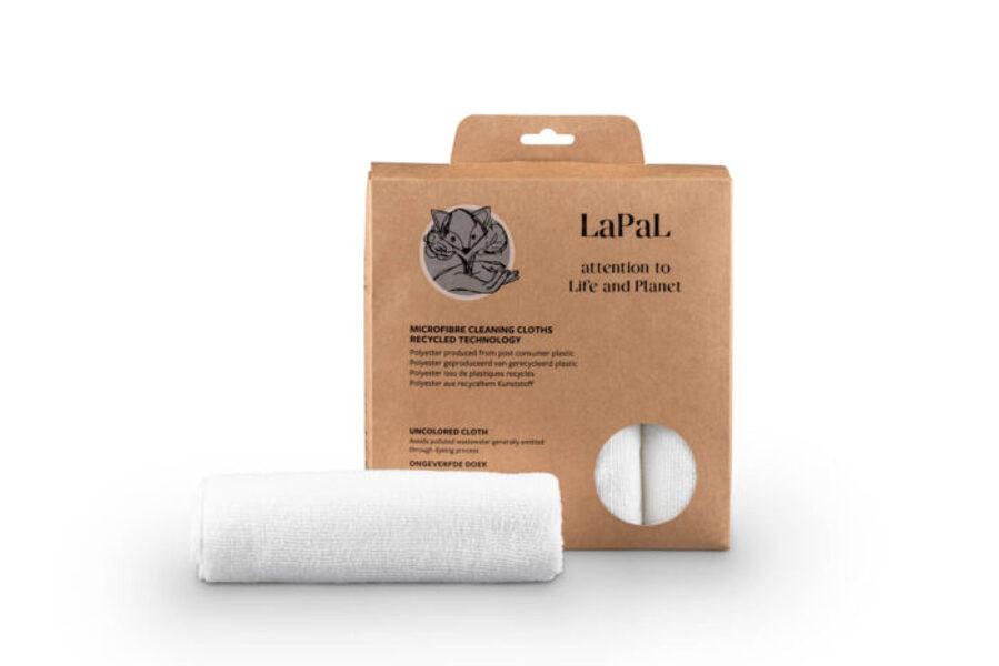 Lapal perdirbto mikropluošto valymo audinys 40 × 40 cm 5vnt